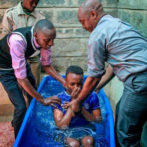 Baptism of 4 Graduates